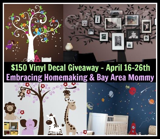 150 Evgie Com Vinyl Decal Giveaway Ends 4 26 13
