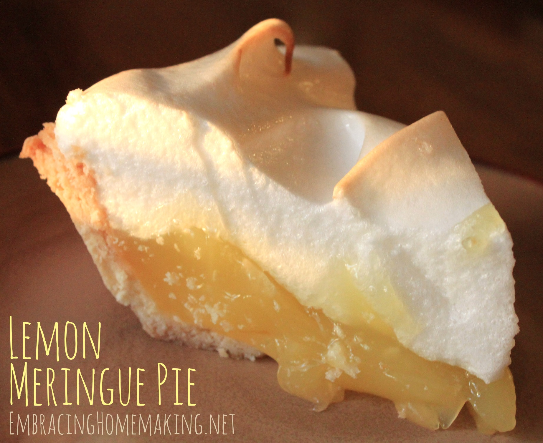 lemon meringue pie recipe this pie is bursting with fresh lemon ...