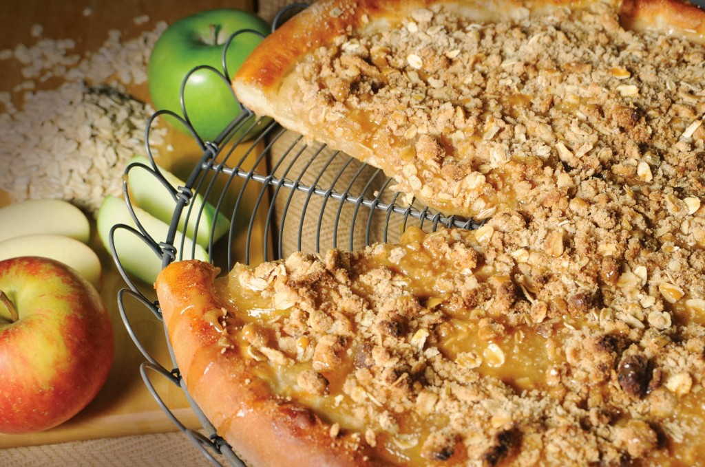 Apple Pizza Pie! Yum!