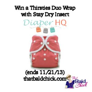 Thirsties Cloth Diaper Giveaway