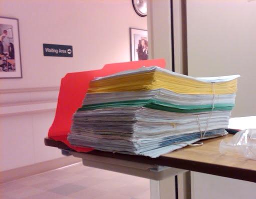 Hospital Paperwork
