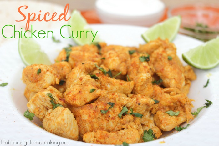 Spiced Chicken Curry Recipe