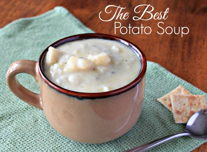 The Best Potato Soup Ever