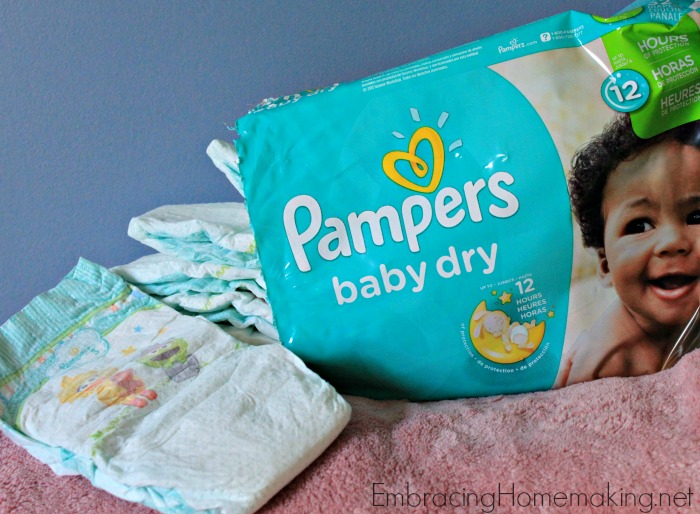 Pampers knows that a great day begins with a dry night's sleep. I know that going in to find your baby's PJs and sheets soaking wet is not a great way to start your day!