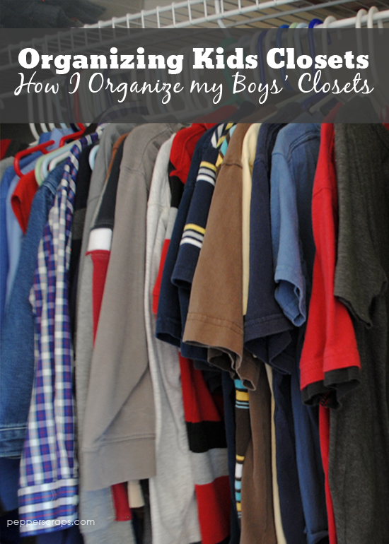 Organizing Kid's Closets