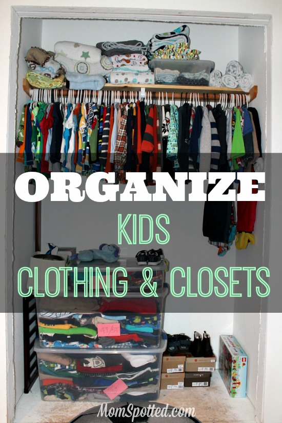 Organizing Kid's Clothing