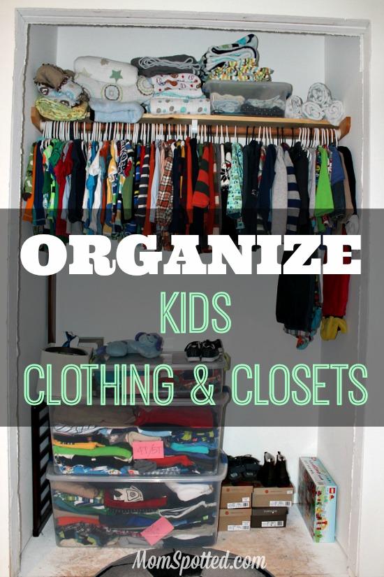 Organizing Kid's Clothing