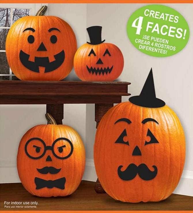 Pumpkin Sticker Decorating Kit