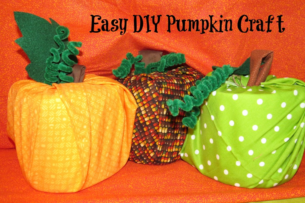 DIY Pumpkin Craft