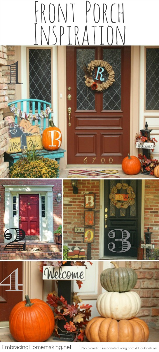Front Porch Inspiration