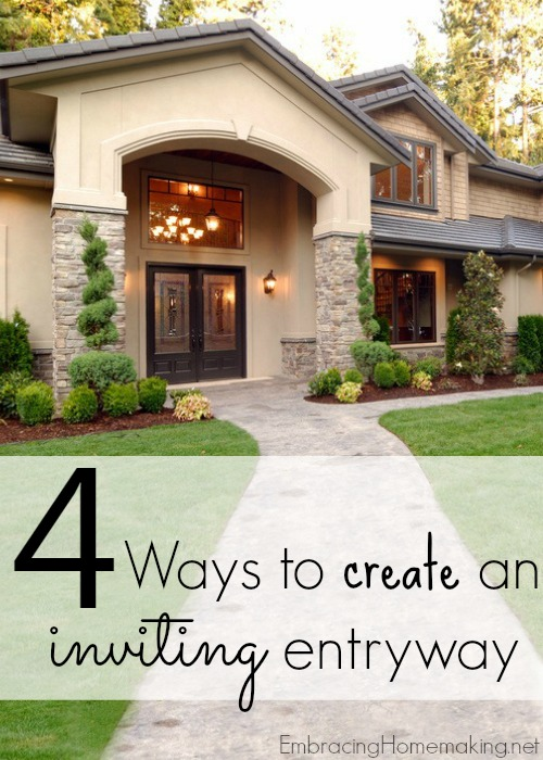Ways to Create an Inviting Entryway