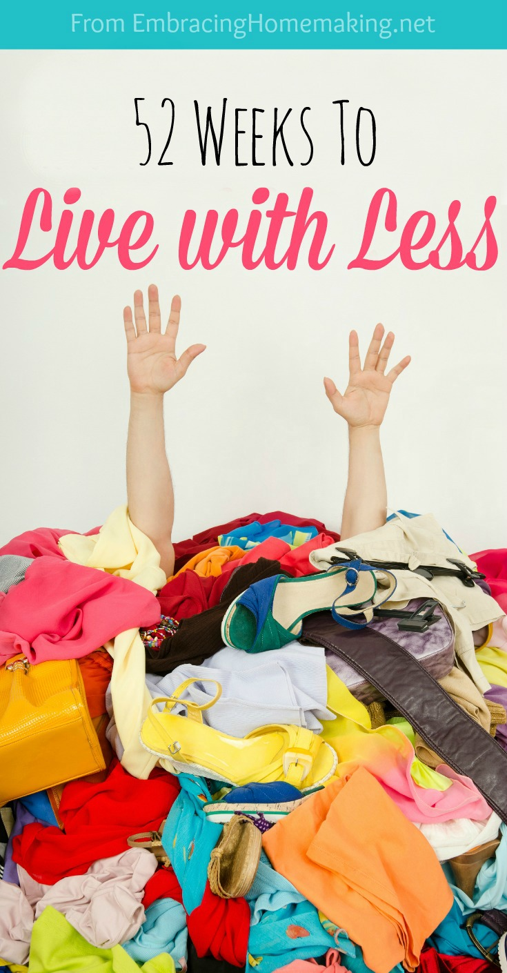 How to Live With Less