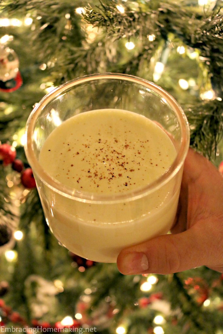 Egg Nog Milkshake Recipe