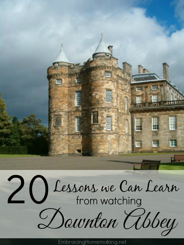 Lessons from Downton Abbey