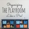 Organizing a playroom like a pro