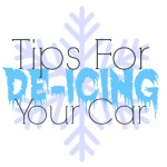 Tips for DeIcing Your Car