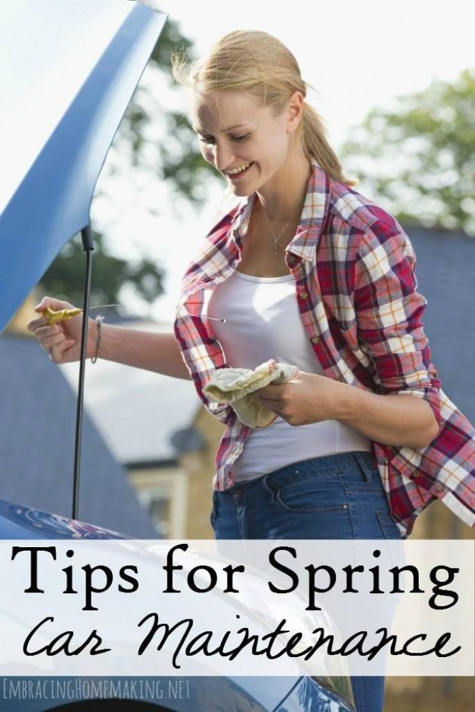 Tips for Spring Car Maintenance