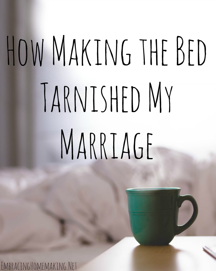 How Making the Bed Tarnished My Marriage