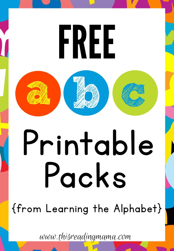 FREE-ABC-Printable-Packs-from-Learning-the-Alphabet