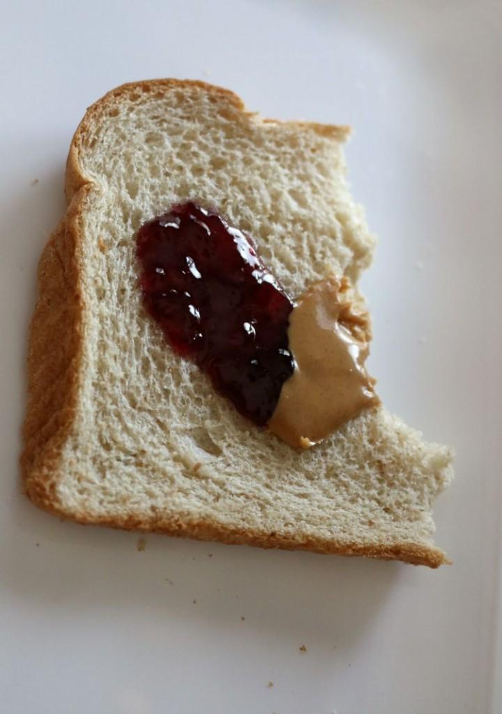 Heart Sandwich Snack