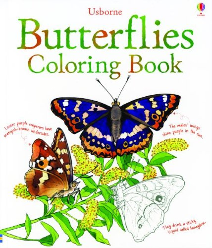 Butterflies Coloring Book