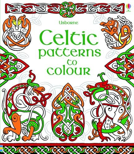Celtic Patterns to Color