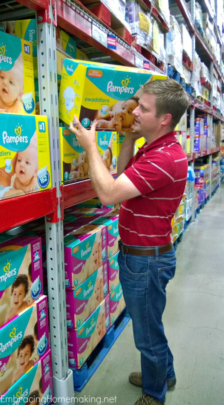 Pampers at Sams