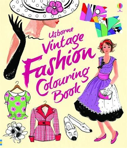 Vintage Fashion Coloring Book