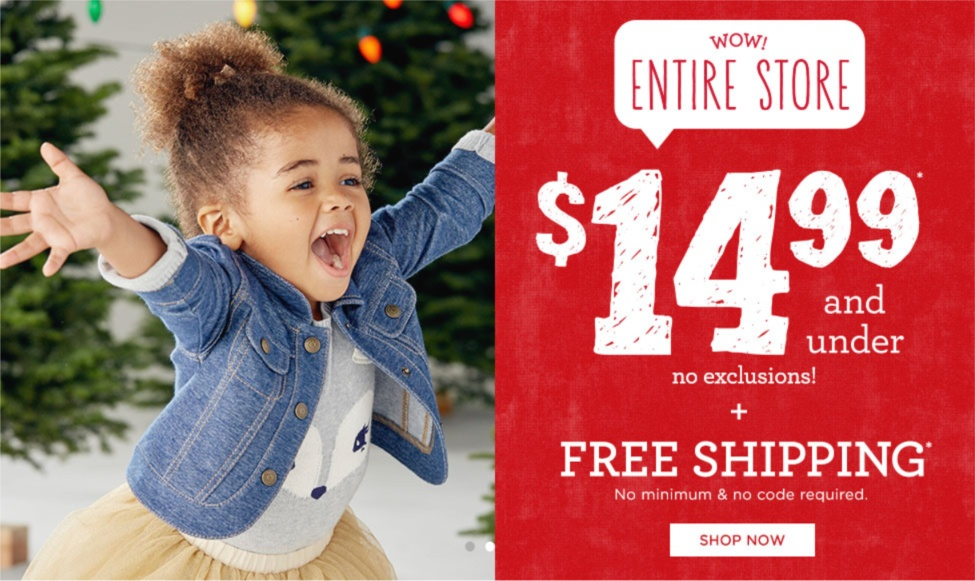 Gymboree 14.99 sale
