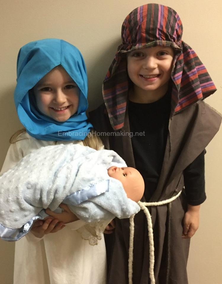 Mary and Joseph Kids