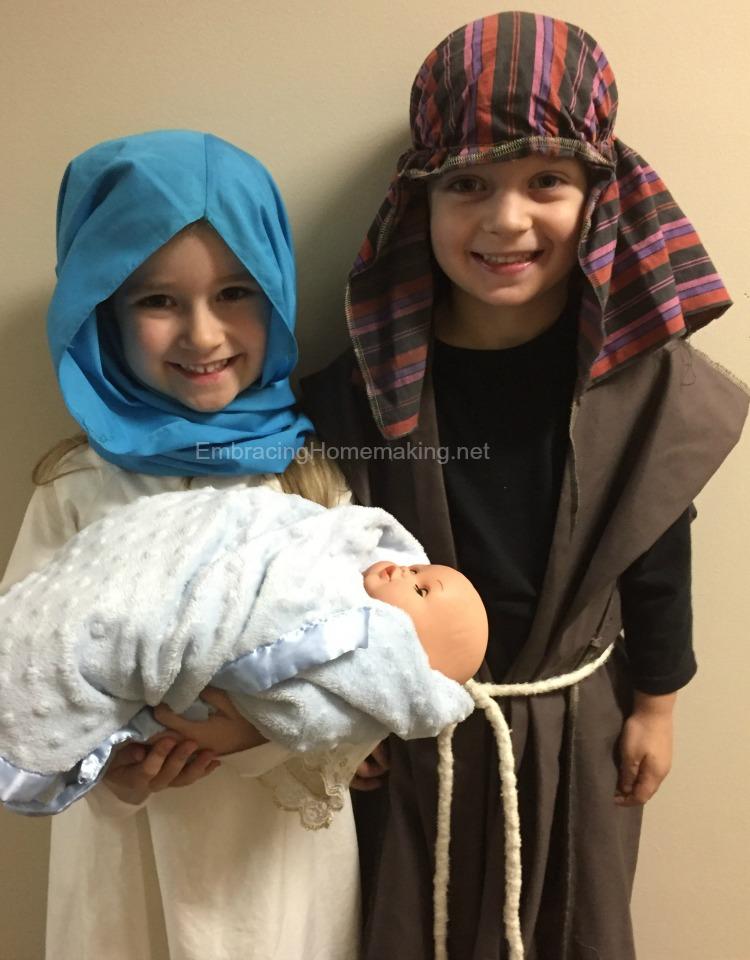 Mary and Joseph Kids