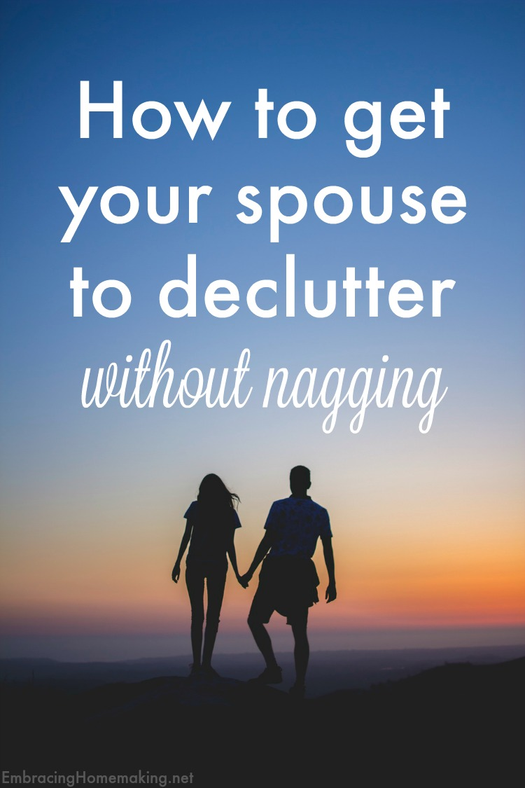 Decluttering without nagging