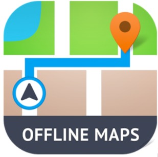 Offline Maps App Logo