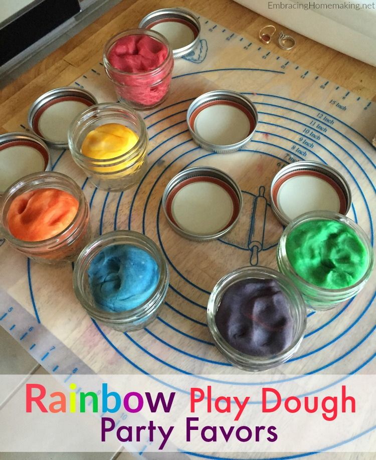 Play Dough Party Favors