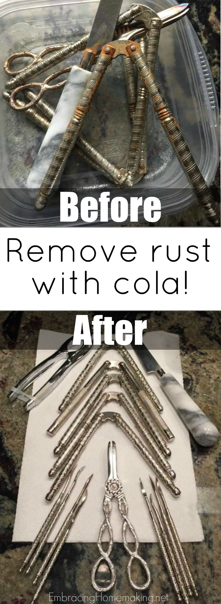 Remove Rust With Cola