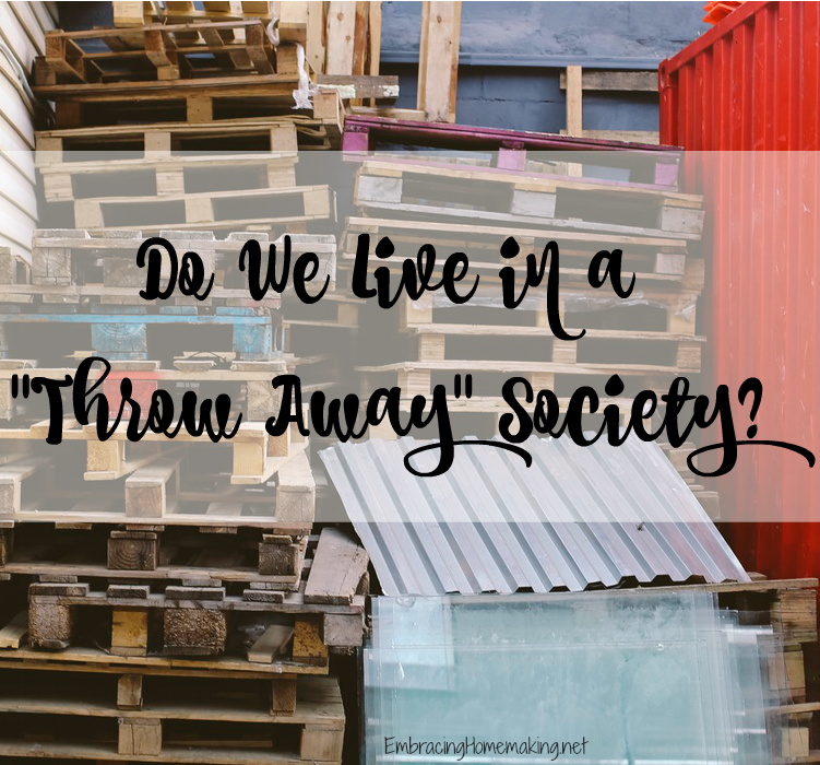 Throw Away Society