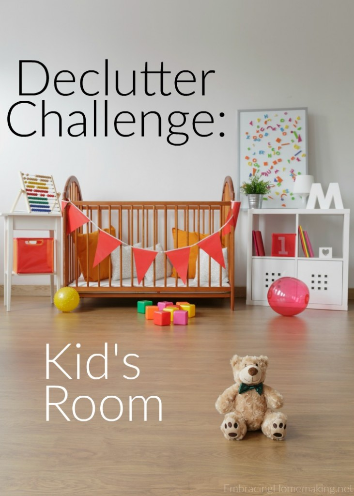 Declutter Kid's Room Tips
