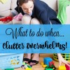 When clutter overwhelms