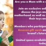 Join a Moms' Panel and Earn Gift Cards!