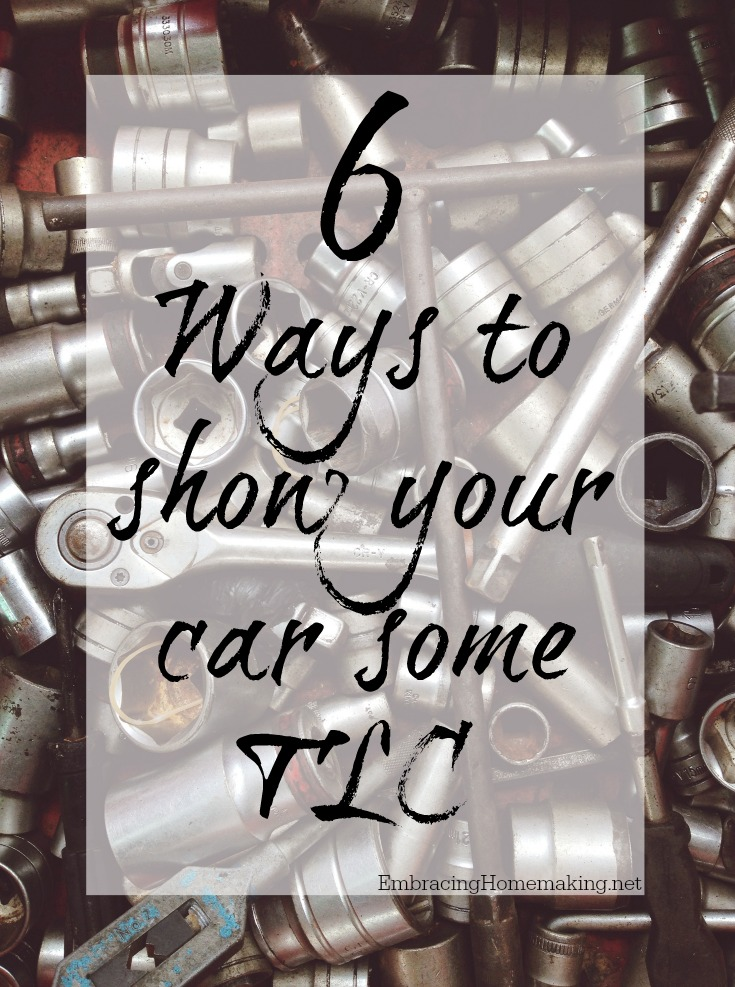 Ways to Show Your Car TLC