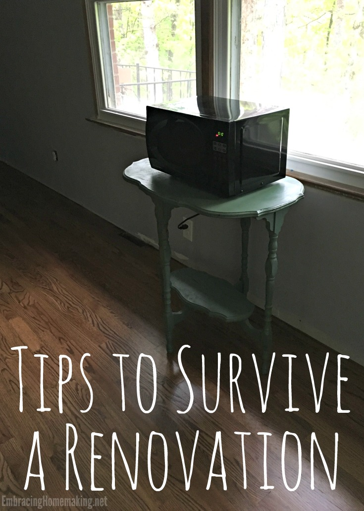 Tips to Survive a Renovation