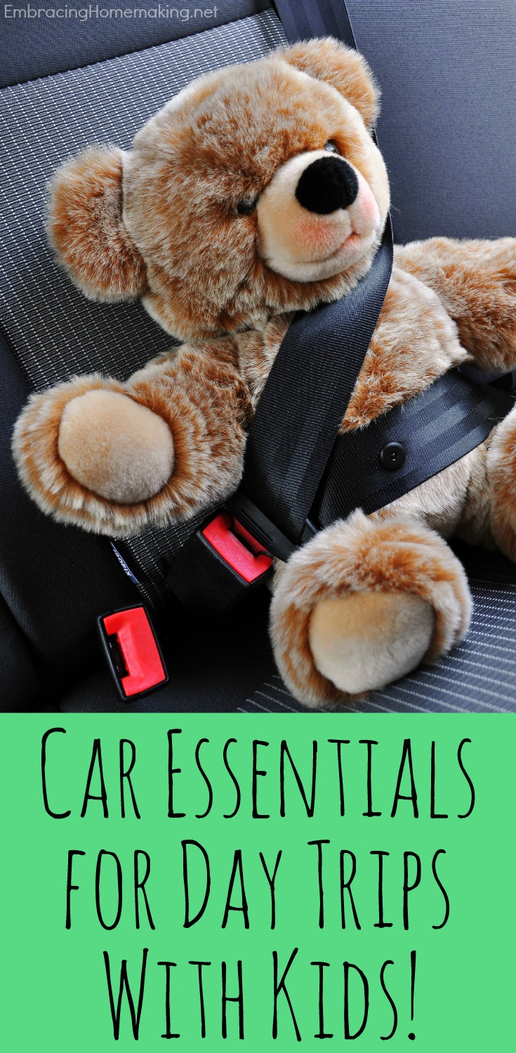 Essentials for Day Trips with Kids
