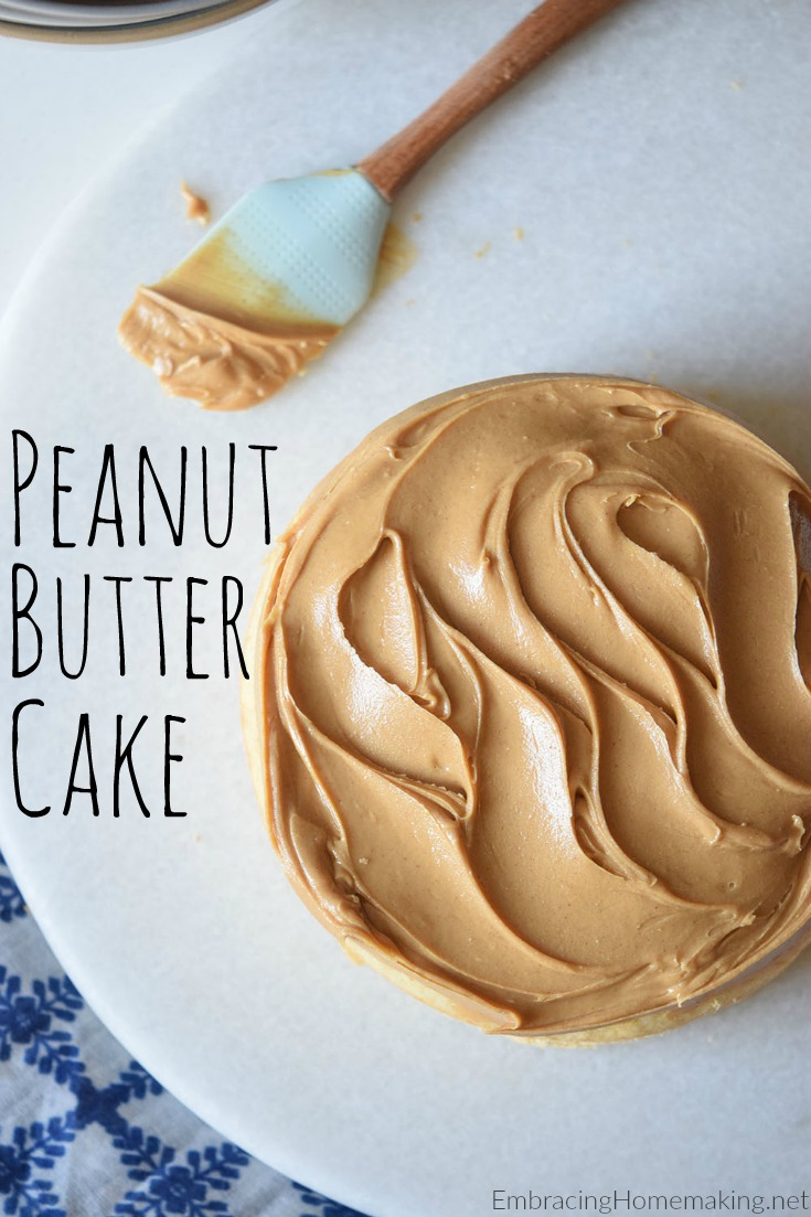 Peanut Butter Cake Recipe