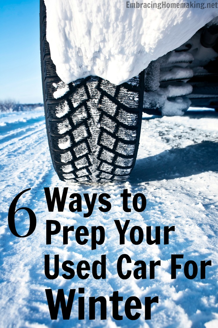 6 Ways To Prep Your Used Car for Winter