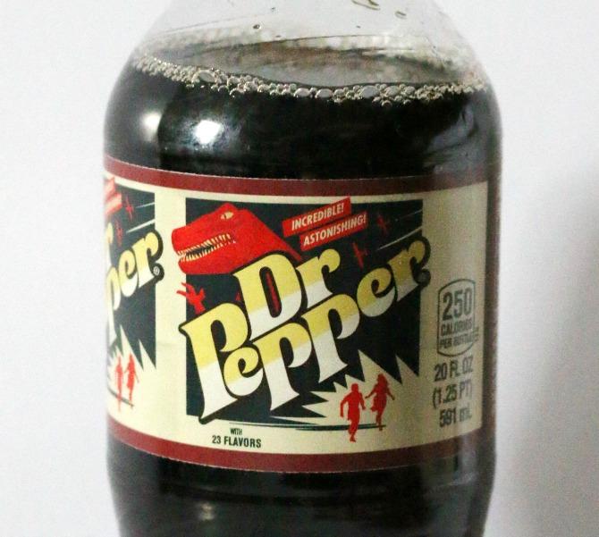 Dr. Pepper Label