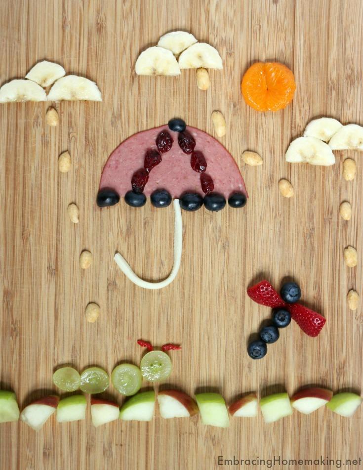 Fun Food Umbrella Lunch