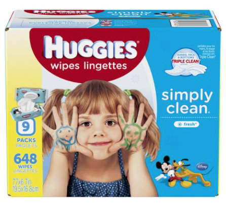 Huggies Wipes $0.01 Shipped