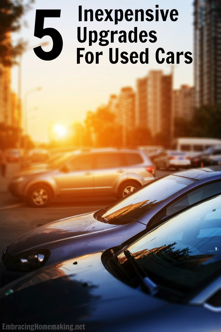 Inexpensive Upgrades for Used Cars