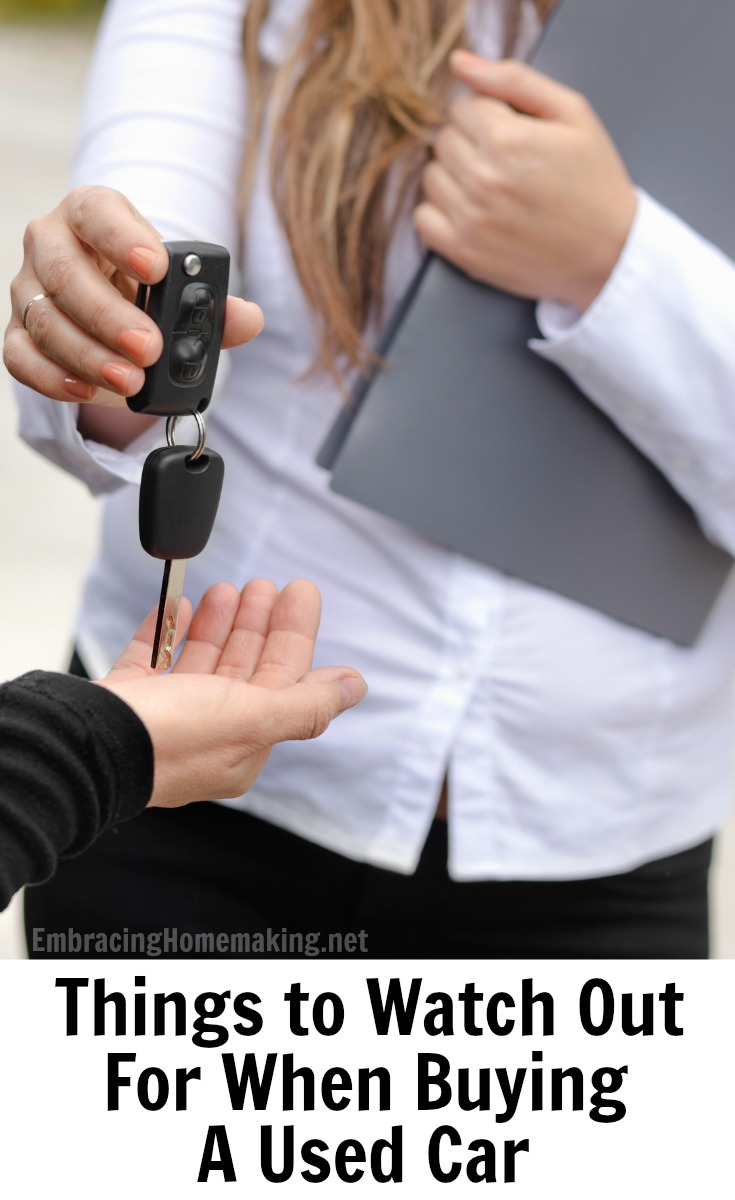 Things to Watch Out For When Buying a Used Car