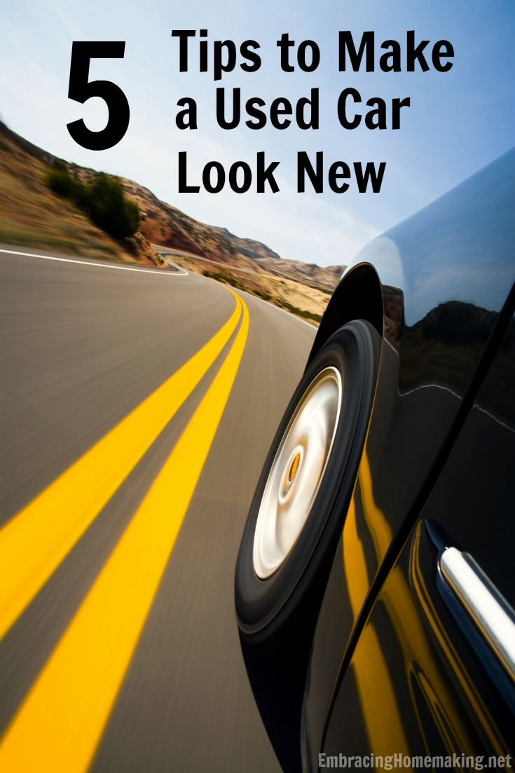 Tips to Make a Used Car Look New
